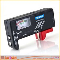 Wholesale BT Universal Battery Tester For V V And Button Cell AAA AA C D
