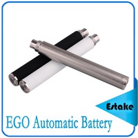 automatic electronic - 1100mah EGO Automatic Battery with Crystal Diamond LED for EGO Thread Atomizer Electronic Cigarette