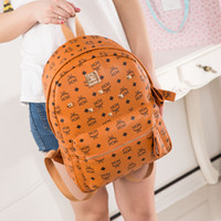 Wholesale 2014 Brand Spring Fashion Classic MCM Rain Stark BACKLEGEND Backpack Bag Shoulder Bags Elements EXO Backpack Bag Colors