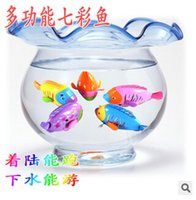 Cheap Cute Funny Clockwork Bath Toys Animals Fish Baby Shower Swimming Pool For Baby Kids Gift Randomly