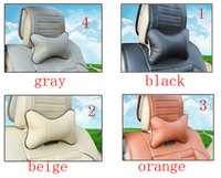 head rest - 2 Breathe Car Auto Seat Head Neck Rest Cushion Headrest Pillow Pad Colors