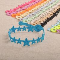 Wholesale Star Shape Mars Lace Cruciani Clover Bracelets Colorful Friendship Bracelet Jewelry Sweet Women Men Hot Italian