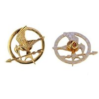 good quality jewelry - Good Quality The Hunger Games items Authentic Prop imitation Jewelry Katniss Movie The Hunger Games MOCKINGJAY PIN