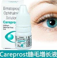 Wholesale Eyelash Growth Treatments Hot NEW NEW SEALED CAREPROST EYELASH GROWTH SERUM LIQUID substitute False Eyelashes