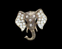ancient pin - Jewelry Accessories Men s suits brooch diamond elephants corsage restoring ancient ways female pin personality new badge