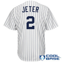 baseball jersey s - Derek Jeter Home White Jersey Baseball Jerseys New York NY Yankees Jerseys Jacoby Ellsbury Mariano Rivera Cool Base Jerseys