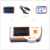 Wholesale 2015 New Top quality new Heal force Prince B Handheld ECG Portable Monitor USB LCD Screen