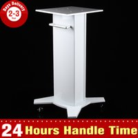 beauty supply trolley - Iron Trolley Stand Unoisetion Cavitation Liposuction Massager Rolling Cart for Lipo Laser Slimming Beauty Machine RF