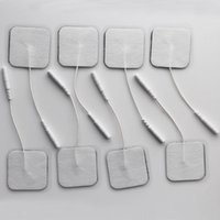 adhesive gel pads - 50PCS Non woven Self Adhesive Electrode Pads Tens Electrode Pad for tens digital therapy machine replacement gel pad