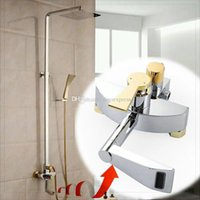 bath vessel faucets - Patent Design Luxurious Golden Plate Bath amp Shower faucet mixer taps vessel sink