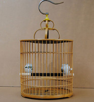 bamboo bird cage - Garden decoration bamboo bird cages gaiolas decorativas bird feeder decorative cages jaula parrot cage bird supplies