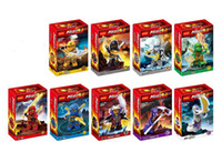 Wholesale 4 cm Set DECOOL Hero Ninjago Lloyd Bricks Toy Set Ninja Action Figures Minifigures Building Blocks Gift cheap LY
