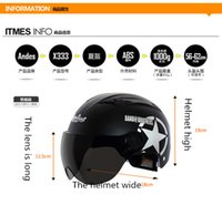 Wholesale Motorcycle helmet Electric car helmet Ms summer male half helmet The battery safety helmet is prevented bask in