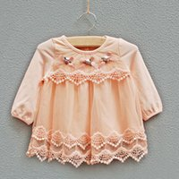 baby flower girl ideas - idea lace flower basic shirt baby girl one piece pullover shirt