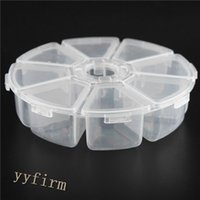 bead storage - Newest Design compartments Clear Plastic Jewelry Beads Storage Container Box with Lids Cover Multi function receive