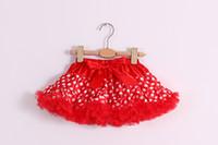 girls pettiskirts - new cute fluffy girl Pettiskirts baby tutu Skirts vintage style children festival clothing girls skirt ST141002
