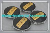 Wholesale C02B MM Car Wheel Hub Emblems Wheel Centre Caps for BBS LOGO Normal Black Gold