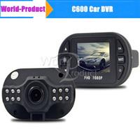 achat en gros de mini-photo numérique-C600 Mini voiture Auto DVR Appareil Photo Numérique Enregistreur Vidéo Carro Coche Dash Cam Dashboard Caméscopes voiture dvr 111181C