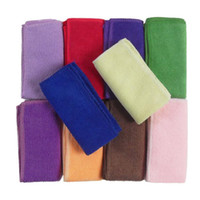 kitchen furniture - New Soft Fiber Cotton Hand Cleaning Cloths Dishcloths Rags Washing Cloths Car Cleaning Towel