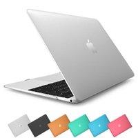 Wholesale Case for Apple Laptop Rubberize Matte Hard Cover For Apple Book Air quot Air quot Pro quot Pro quot New Pro Retain quot