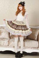 best trojan - Best Gift New Lolita Sweet Princess Skirt Lolita Cosplay Original Design Royal Trojans Pleated Skirt Sweet Lolita Skirt