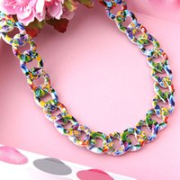 Wholesale 2015 new design spring style short chian necklace for women fashion design women jewelry yiwu jewelry