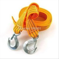 Wholesale Tons M Tow Cable Towing Rope With Hooks for Heavy Duty Car Emergency