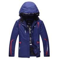 Wholesale new in stock freeshipping mens amp womens snowboard jacket super warm waterproof windproof outdoor hiking couple sportswear