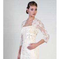 Cheap Tulle Wedding Jackets Best 3/4-Length Sleeve Jackets/Wraps Shrug Wraps
