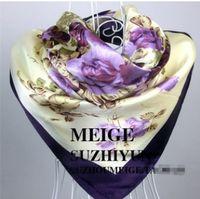 Wholesale cm Imitation silk scarves scarf flower