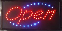 Wholesale Ultra Bright LED Neon Light Animated led OPEN signs neon led open signs open led indoor led open