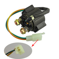 Wholesale ATV Motorcycle Electrical Parts Starter Solenoid Relay Lgnition Key Switch For Honda VT1100C SHADOW