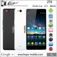 "Cheap Original ZTE Nubia Z7 MAX Qualcomm MSM8974AC 2.5GHz 4G LTE Cell Phone 5.5"" FHD Android 4.4 2GB RAM 32GB ROM 13.0MP GPS OTG"