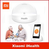 Wholesale 100 Original xiaomi iHealth intelligent smart Blood Pressure Electronic sphygmomanometer good family gift Blood pressure measuring instrume