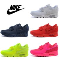 Cheap Nike Air Max 90 Yeezy 2 Men Women Authentic Running Shoes Mens Womens Walking Shoes Discount Max90 Mens Sport Shoes Size 5.5-12