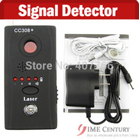 Wholesale Hot CC308 Multi Detector Full Range All Round Detector For Hidden Camera IP Lens GMS RF Signal Detector Finder