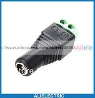 Wholesale 100 x mm x mm Female CCTV Power Jack Adapter