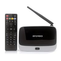Wholesale New Android TV Box CS918 Full HD P RK3188T Quad Core Media Player GB GB XBMC Wifi Airplay DLNA Antenna with Remote Control