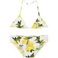 baby bathing suits - Wl Monsoon Girls Bikini Baby Girl Swimwear Pieces Brand Summer Girls Bathing Suits Toddler Swimwear Kids Lemon Print Girls Swimsuit