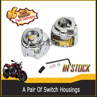 Wholesale 2X Switch Housings Left and Right for Dyna Sportsters Softail V Rod and Touring models