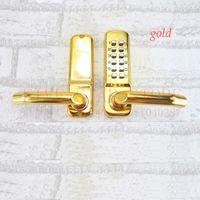 FS-208A digital door lock - European style interior mechanical handle door lock digital password safe door lock wooden door lock