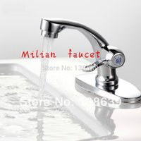 Wholesale new design quick opening single handle Single cold bathroom basin faucet water tap bathroom promotion
