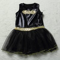 baby dressing up outfits - 160pcs Baby Halloween Cosplay Batman Dresses Kids Cartoon Dance Costume Children Toddler Christmas Outfits Make Up Sets With Masks