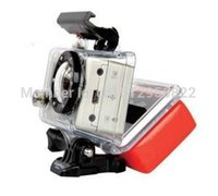Wholesale Stock Gopro Camera accessories Floaty Float Box With M Adhesive Anti Sink for GoPro HD Hero Hero2 Hero3 AS AEE Camera