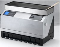 Wholesale EC98 High Speed Factory Price Full Automatic electronic coin counter and sorter for Euro For GBP FOR RUB For Malaysia coin