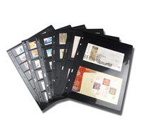 bamboo albums - professional postage stamp brands album for pages sheets loose leaf cm PET PVC rows pockets
