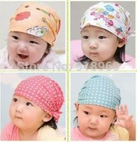 ats pc - 1 Fashion baby hats kids caps Infant pirate cap Cotton lovely elastic skullies boys girls beanies Years old ATs A5