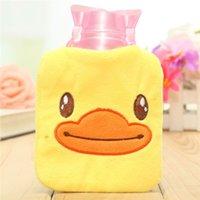 Wholesale Hand Warmer Water Bag Bottle Mini Cartoon Cover Filling Hot Heat Multi Colors Cute Cartoon Portable Body Relaxing Home Necessary