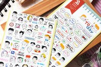 Wholesale Pack Transparent PVC Today Scrapbooking Stickers Planer
