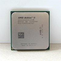 Wholesale AMD CPU Athlon II X2 CPU GHz Socket AM2 AM3 PIN dual core w processor scrattered pieces